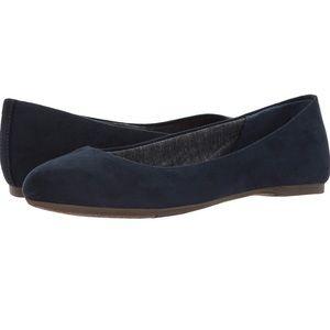 New Dr. Scholl's Shoes Flats Navy Blue Memory Foam